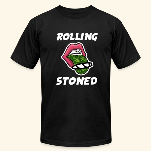 Rolling Stoned - Unisex Jersey T-Shirt by Bella + Canvas