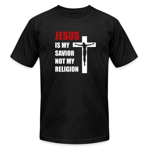 Jesus is my Savior Tee for men - Unisex Jersey T-Shirt by Bella + Canvas