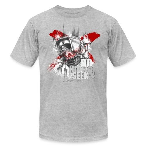 No hide & Seek - Unisex Jersey T-Shirt by Bella + Canvas