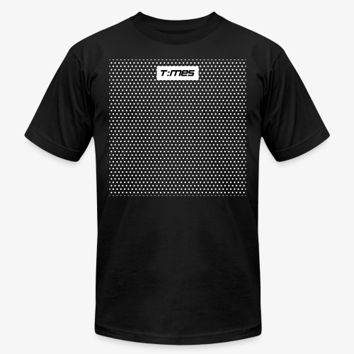 Times Supply Black and White - Unisex Jersey T-Shirt by Bella + Canvas