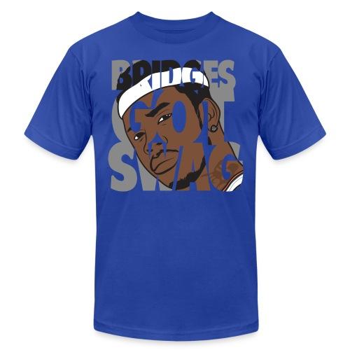 Men's Hoodie - #BridgesGotSwag - Unisex Jersey T-Shirt by Bella + Canvas