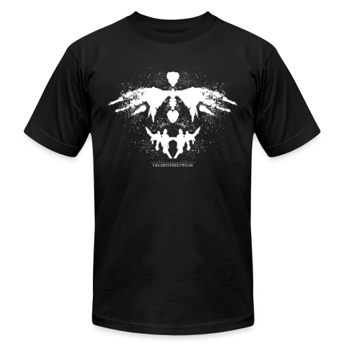 Rorschach_white - Unisex Jersey T-Shirt by Bella + Canvas