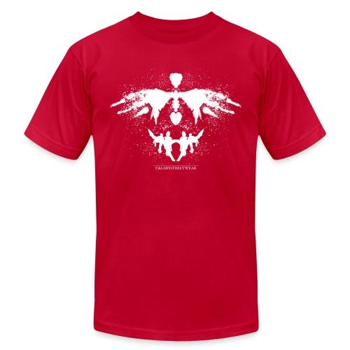 Rorschach_white - Unisex Jersey T-Shirt by Bella + Canvas