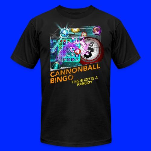 Vintage Cannonball Bingo Box Art Tee - Men's  Jersey T-Shirt