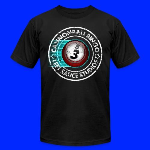 Vintage Cannonball Bingo 8-Bit Ball Tee - Men's  Jersey T-Shirt
