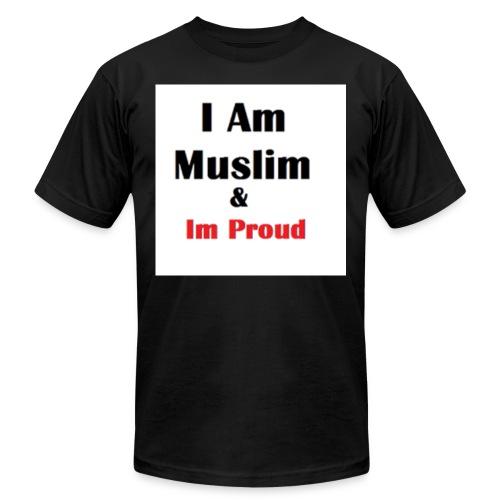 I Am Muslim - Men's  Jersey T-Shirt