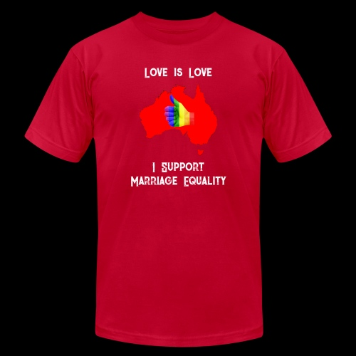 Love Is Love 3 - Unisex Jersey T-Shirt by Bella + Canvas