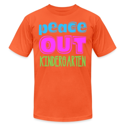 Kreative In Kinder Peace Out - Unisex Jersey T-Shirt by Bella + Canvas