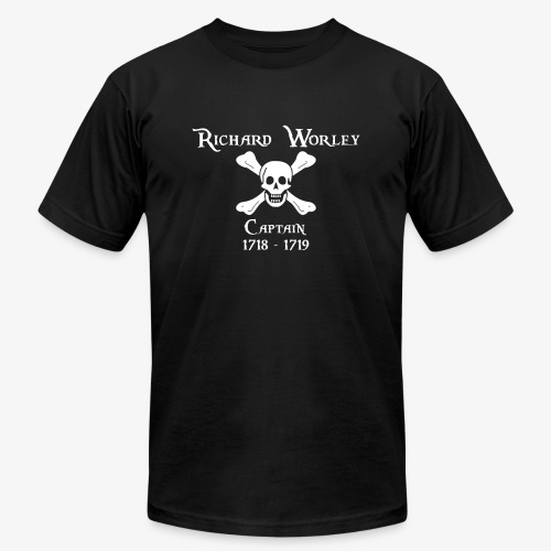 Captain Richard Worley - Unisex Jersey T-Shirt by Bella + Canvas