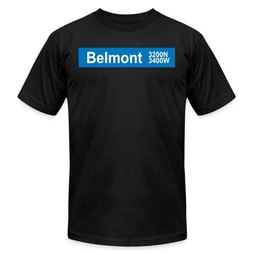 Belmont Blue Line - Men's Jersey T-Shirt