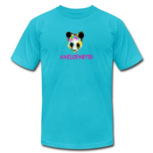 Axelofabyss panda panda paint - Unisex Jersey T-Shirt by Bella + Canvas