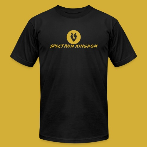 Spectrum Kingdom Gold Logo - Men's Jersey T-Shirt