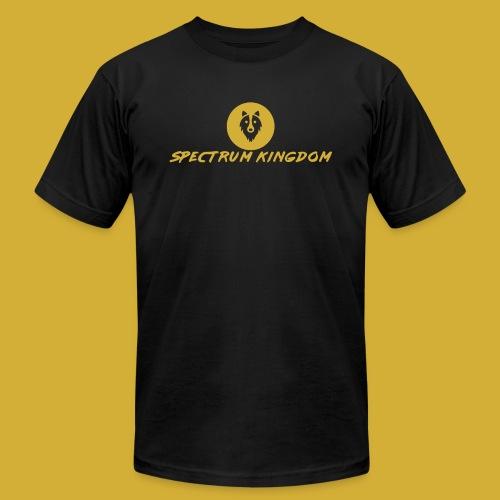 Spectrum Kingdom Gold Logo - Unisex Jersey T-Shirt by Bella + Canvas