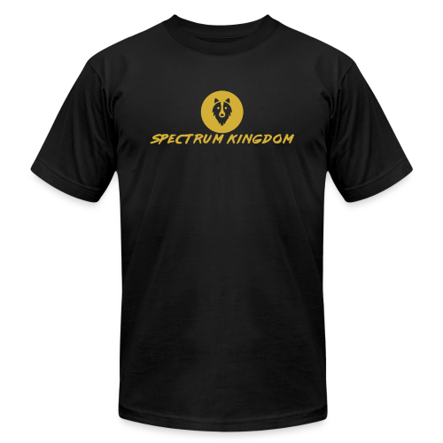 Spectrum Kingdom Gold Logo - Men's  Jersey T-Shirt