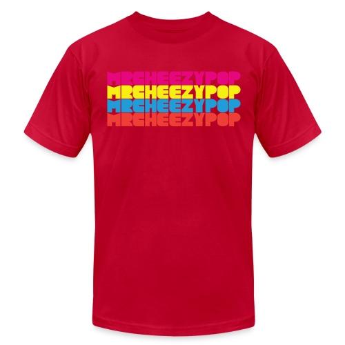 mrcheezypop graphic png - Unisex Jersey T-Shirt by Bella + Canvas