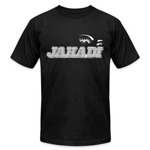 hadilogoWHITE - Men's  Jersey T-Shirt