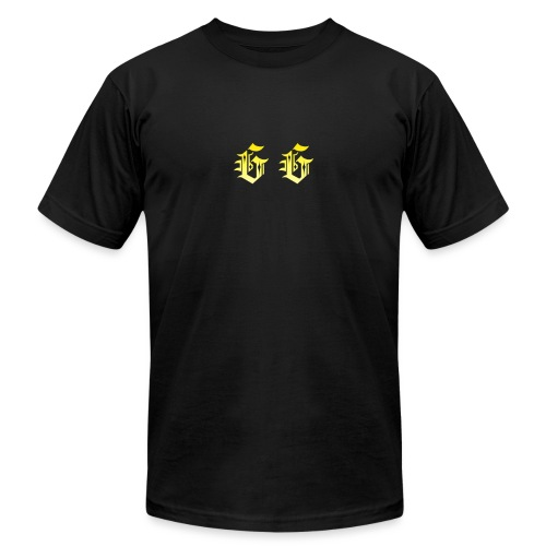 golden gamer logo - Unisex Jersey T-Shirt by Bella + Canvas
