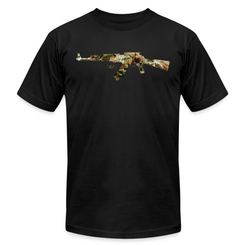 AK-47.png - Unisex Jersey T-Shirt by Bella + Canvas