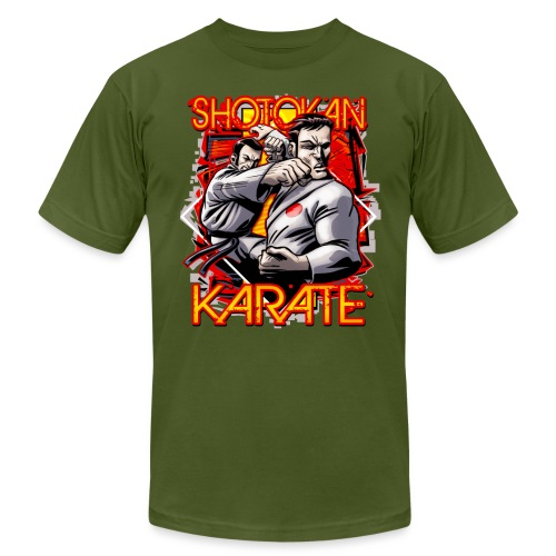 Shotokan Karate - Unisex Jersey T-Shirt by Bella + Canvas