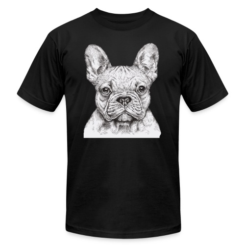 French Bulldog - Men's Jersey T-Shirt