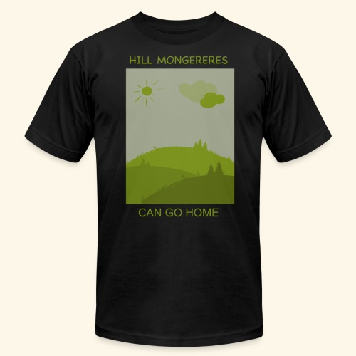 Hill mongereres - Unisex Jersey T-Shirt by Bella + Canvas