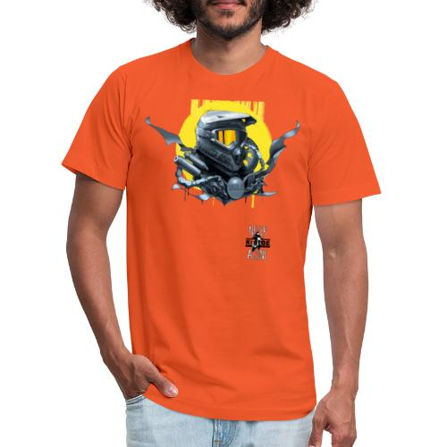 Americana - Unisex Jersey T-Shirt by Bella + Canvas