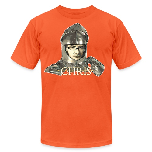 darksouls chris3 - Unisex Jersey T-Shirt by Bella + Canvas