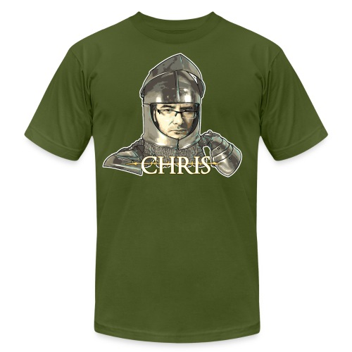 darksouls chris3 - Unisex Jersey T-Shirt by Bella + Canvas