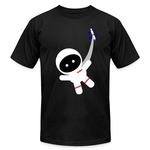 Space Walker Kids' Shirts - Unisex Jersey T-Shirt by Bella + Canvas