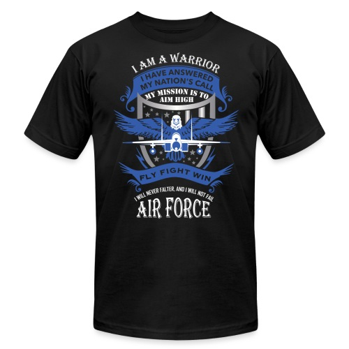 Air Force - Unisex Jersey T-Shirt by Bella + Canvas