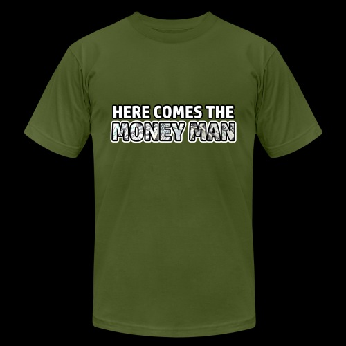 Here Comes The Money Man - Men's  Jersey T-Shirt
