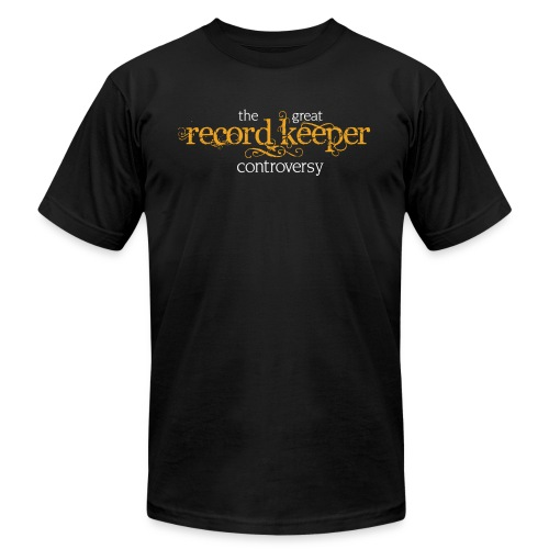great record keeper cont - Unisex Jersey T-Shirt by Bella + Canvas