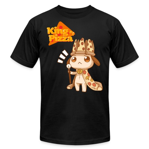 King of Pizza - Unisex Jersey T-Shirt by Bella + Canvas