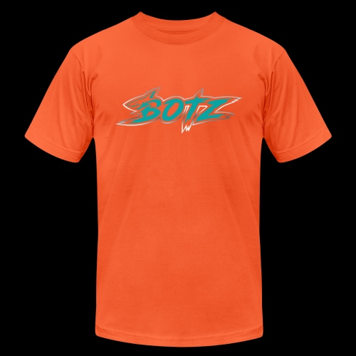 BOTZ Teal Logo - Unisex Jersey T-Shirt by Bella + Canvas