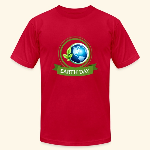 Happy Earth day - 3 - Unisex Jersey T-Shirt by Bella + Canvas