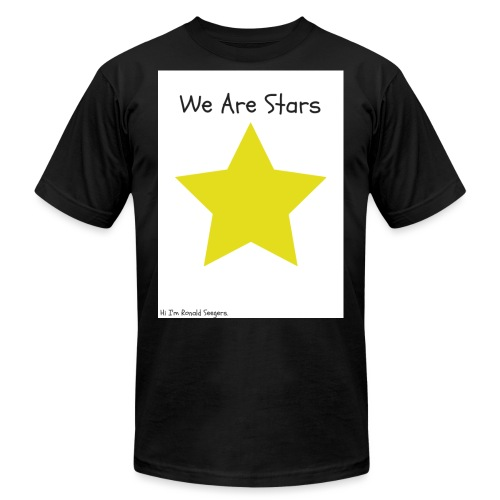 Hi I'm Ronald Seegers Collection-We Are Stars - Unisex Jersey T-Shirt by Bella + Canvas