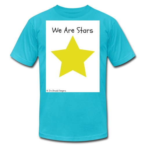 Hi I'm Ronald Seegers Collection-We Are Stars - Men's  Jersey T-Shirt