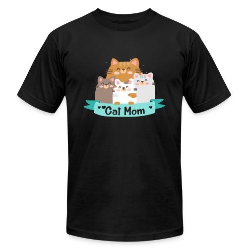 Cat MOM, Cat Mother, Cat Mum, Mother's Day - Men's Jersey T-Shirt