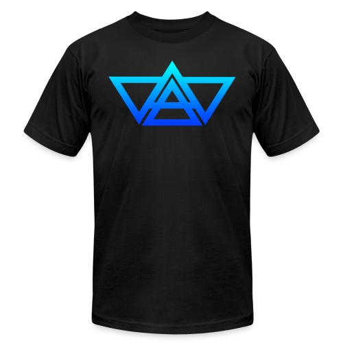THIAXIS TRIANGLES LOGO - Unisex Jersey T-Shirt by Bella + Canvas