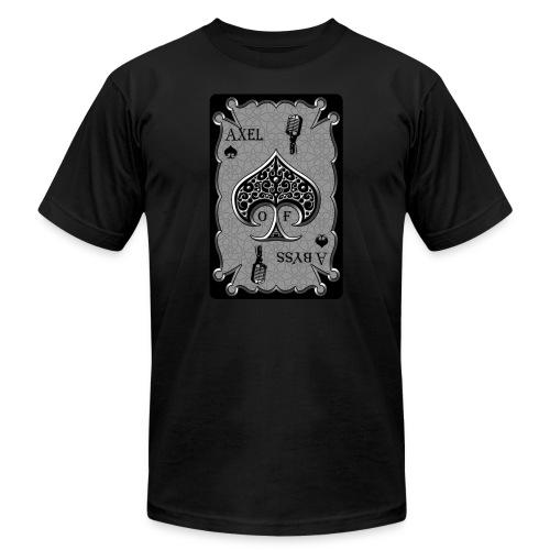 Axelofabyss Spade Card - Men's Jersey T-Shirt