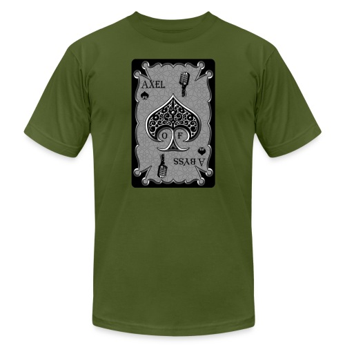 Axelofabyss Spade Card - Unisex Jersey T-Shirt by Bella + Canvas