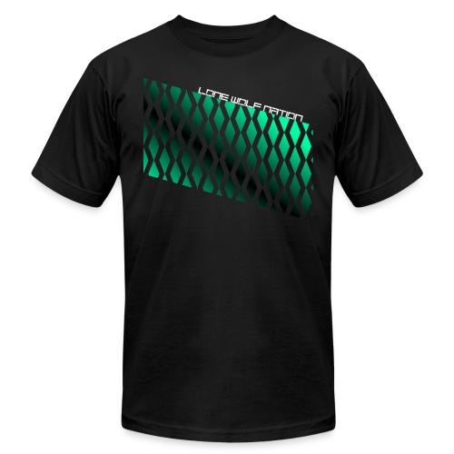 Diamond Pattern By Lone Wolf Nation - Men's  Jersey T-Shirt