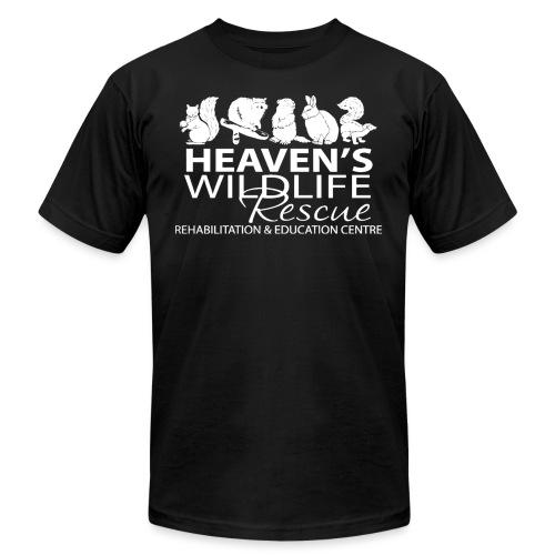 HWR White - Unisex Jersey T-Shirt by Bella + Canvas