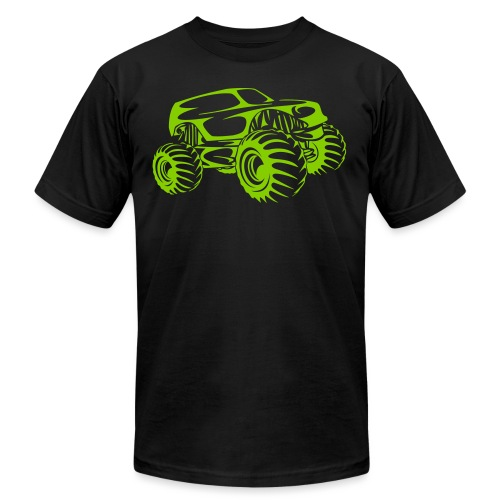 Monster Truck Abstract - Unisex Jersey T-Shirt by Bella + Canvas