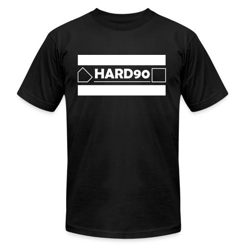 Original Hard 90 Logo - Unisex Jersey T-Shirt by Bella + Canvas