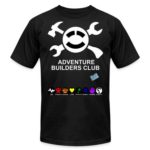 Adventure Builders Club - Unisex Jersey T-Shirt by Bella + Canvas