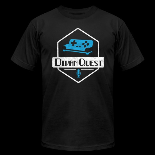 DivanQuest Logo (Badge) - Men's  Jersey T-Shirt