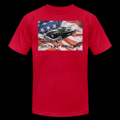 World's Best Muscle Cars - Unisex Jersey T-Shirt by Bella + Canvas