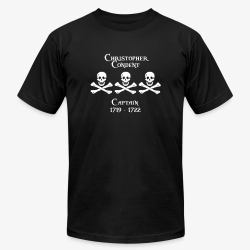Captain Christopher Condent - Unisex Jersey T-Shirt by Bella + Canvas