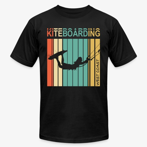 Kiteboarding WEST COAST - Unisex Jersey T-Shirt by Bella + Canvas